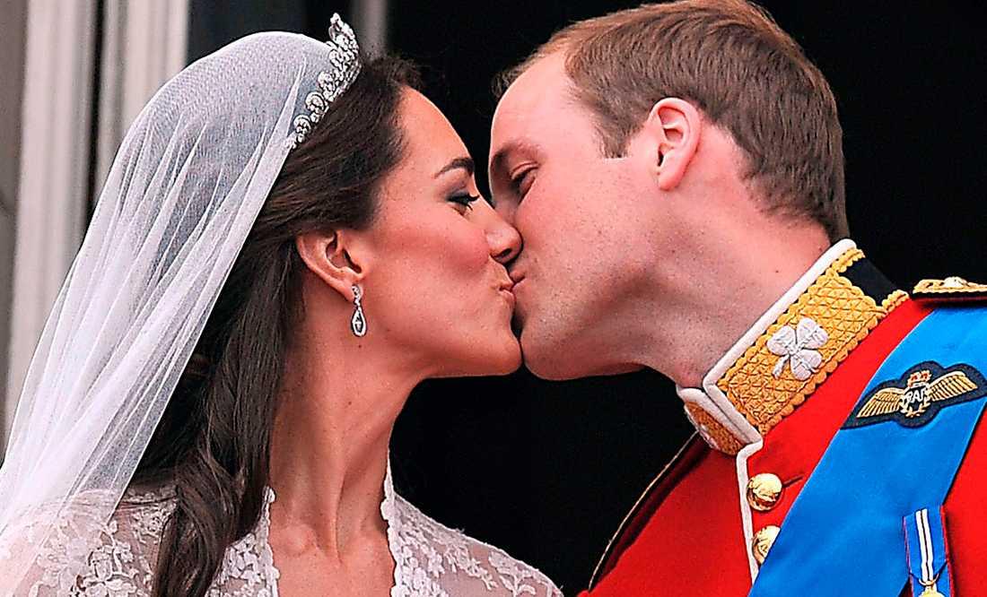 Dyr kärlek I går fick prins William sin Kate Middleton.