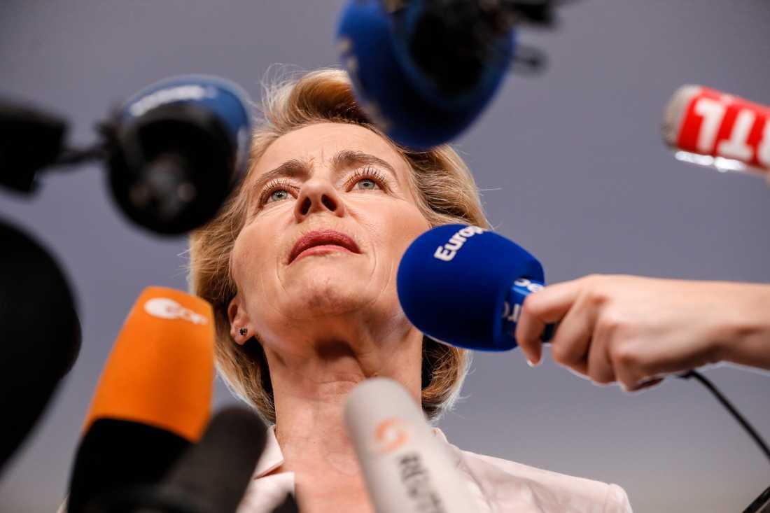 Ursula von der Leyen kan bli EU-kommissionens nästa ordförande.
