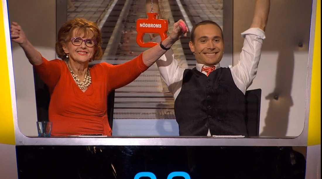 Elisabet Höglund och Jesper Rönndahl.