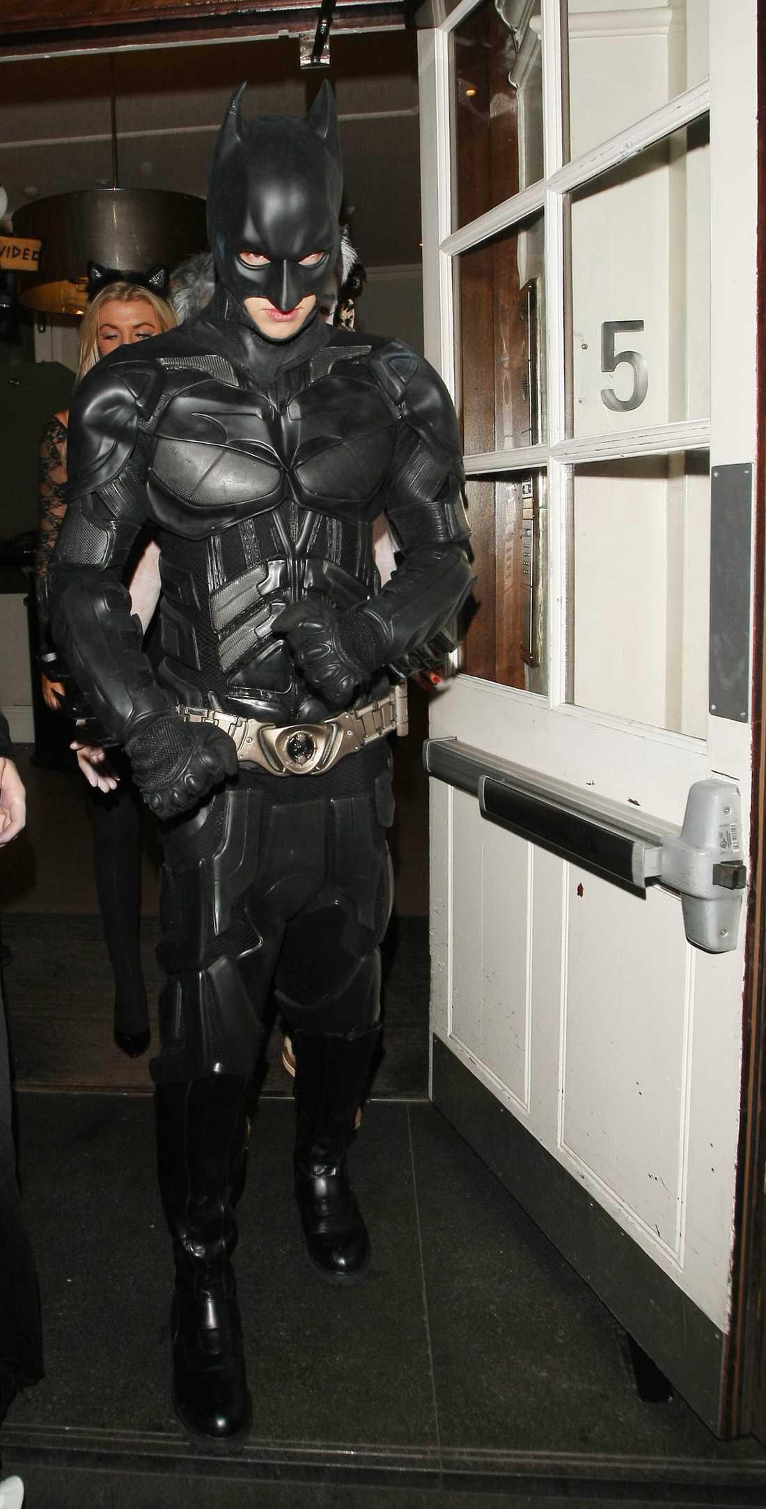 Liam Payne från bandet One Direction fick vara Batman för en dag.