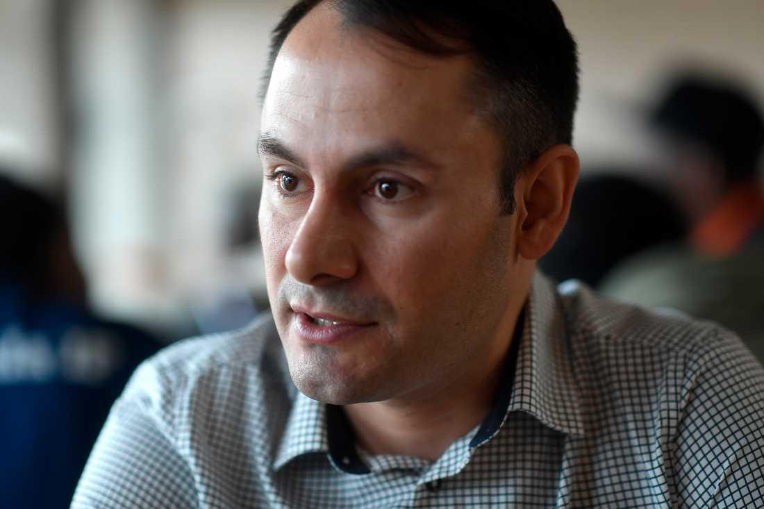 Mikail Yüksel utmanade om förstaplatsen på riksdagslistan – och vann.