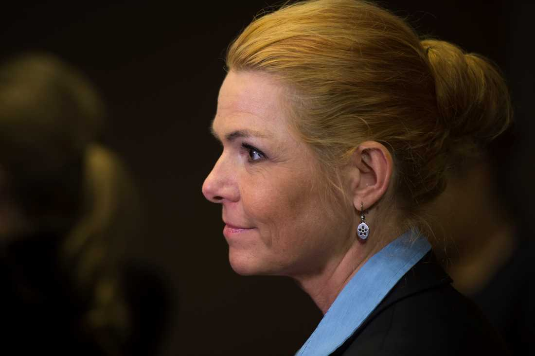 Inger Støjberg säger fortsatt nej till kvotflyktingar. Arkivbild.