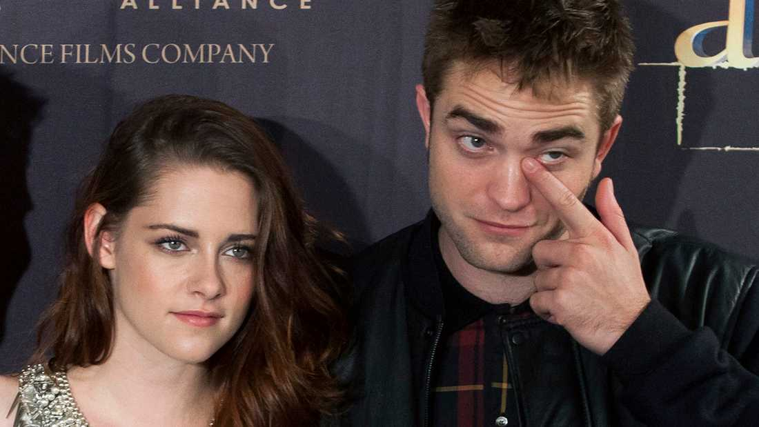 Kristen Stewart och Robert Pattinson.