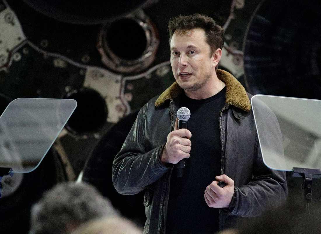 SpaceX-grundaren Elon Musk har blivit känd som en sann visionär. 2002 startade han sitt rymdföretag.