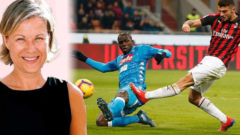 Kalidou Koulibaly (till vänster) var i går tillbaka på arenan i Milano där  han 9eaf6583d517e