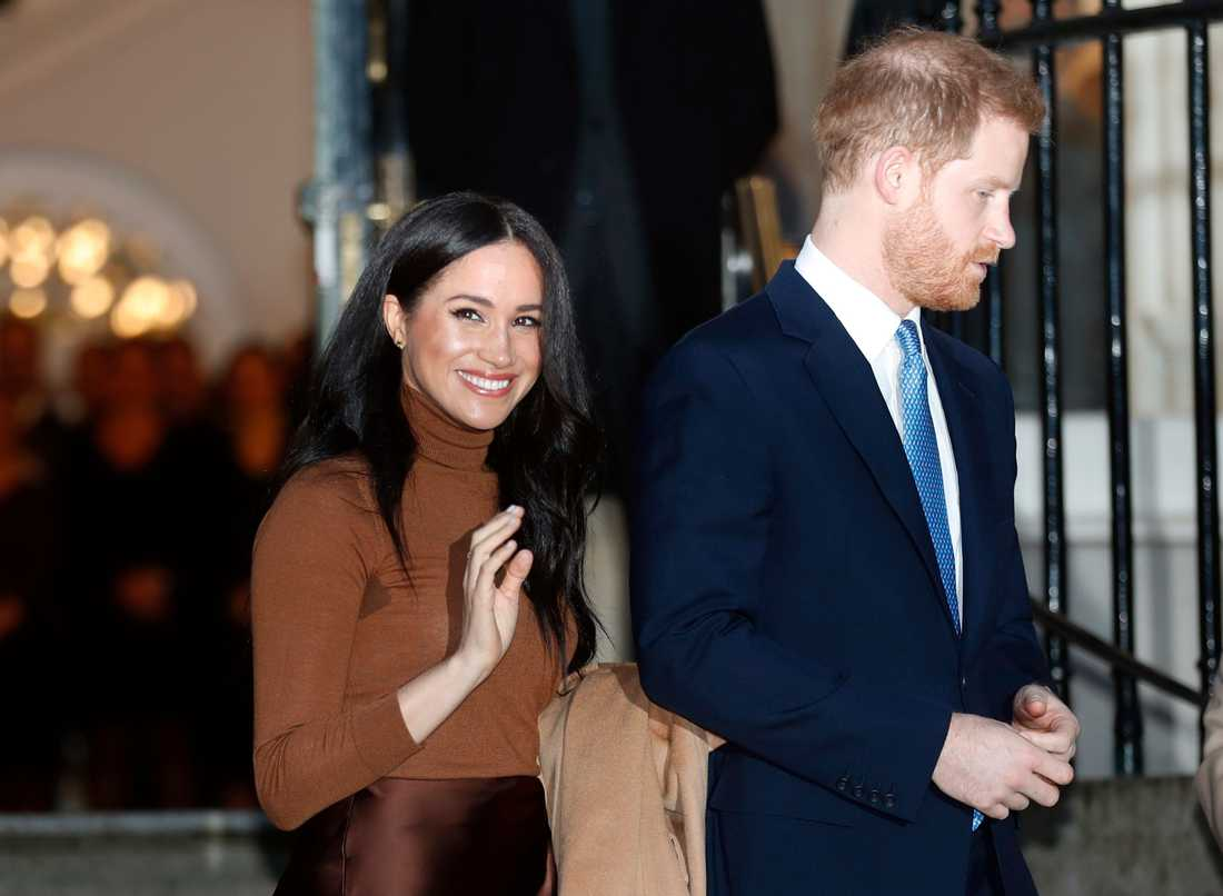 Meghan Markle och maken prins Harry.