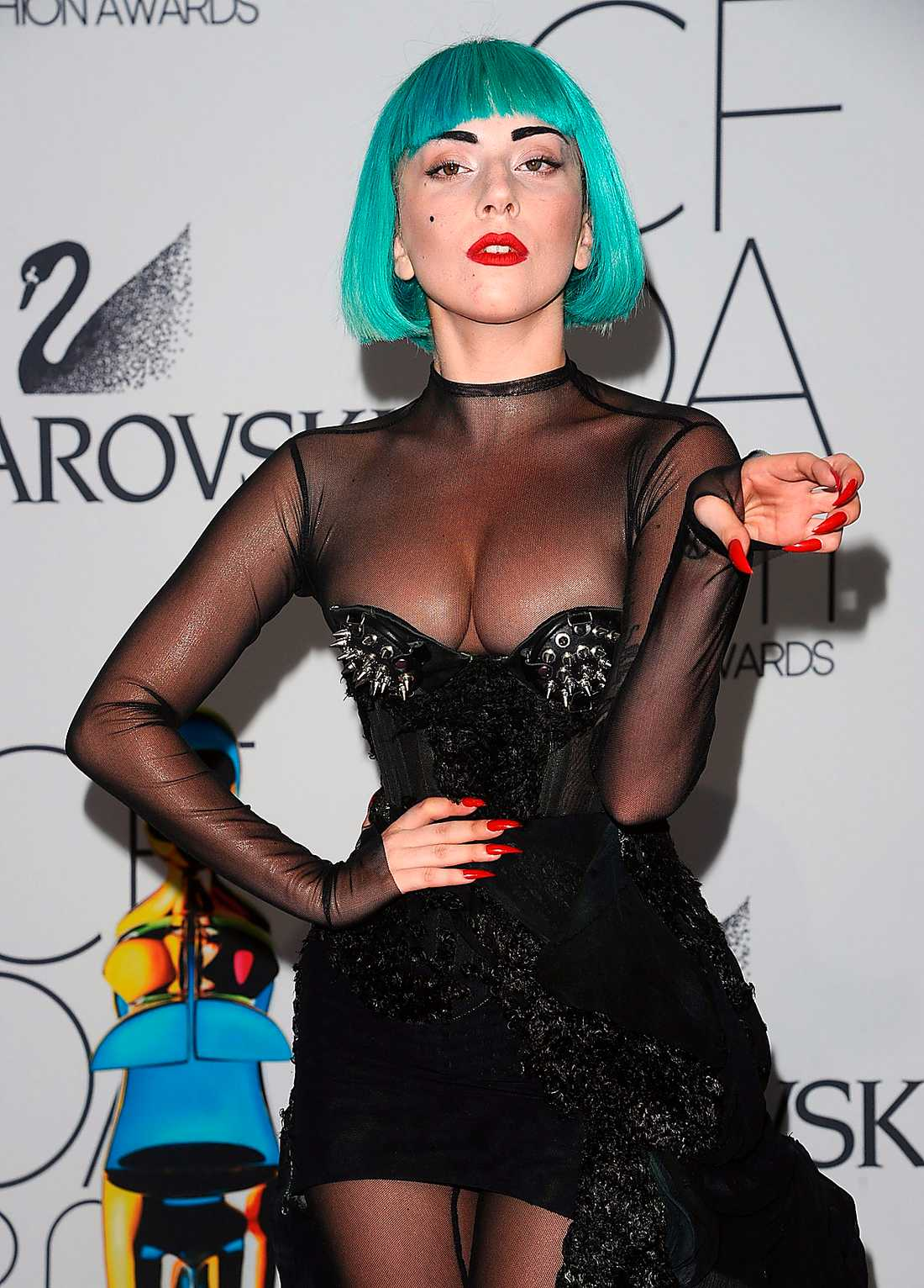 1. Lady Gaga 14,4 miljoner läsare