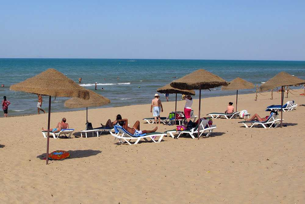 Tunisien är ett populärt turistmål.