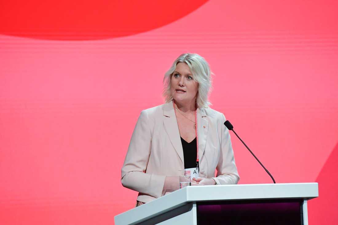 Lena Rådström Baastad (S) vill införa ett skattesänkarstopp. Arkivbild.