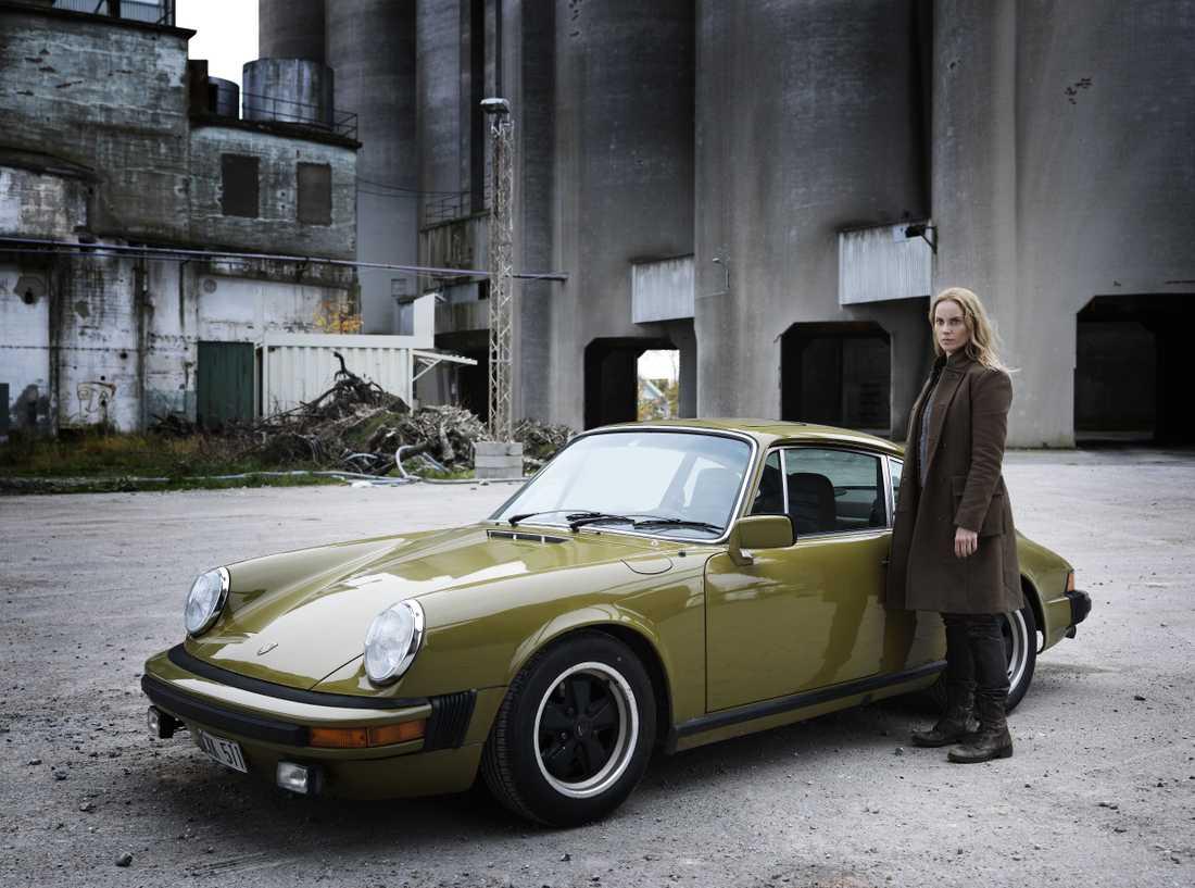 Saga Noréns olivgröna Porsche är nu såld.