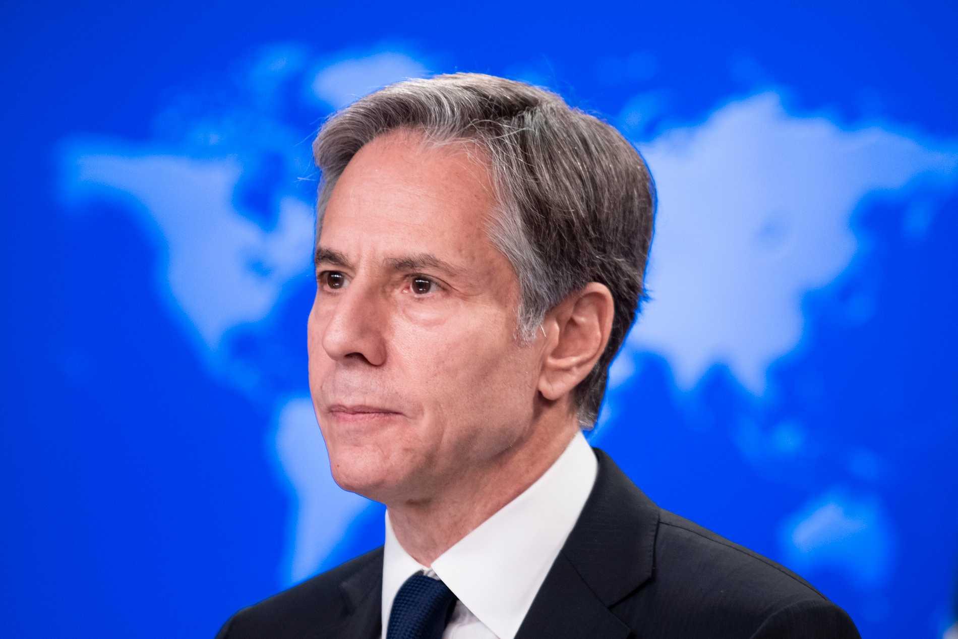 USA:s utrikesminister Antony Blinken. Arkivbild.