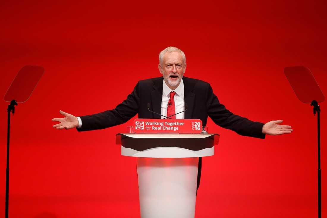 Jeremy Corbyn, ledare Labour
