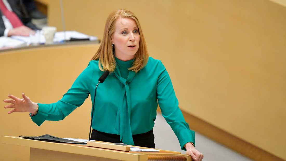 Centerpartiets partiledare Annie Lööf. Arkivbild.