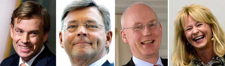 Skrattar hela vägen till banken Sedan årsskiftet har Nordea, Handelsbanken, Swedbank och SEB tillsammans gjort en vinst på drygt 44 miljarder.