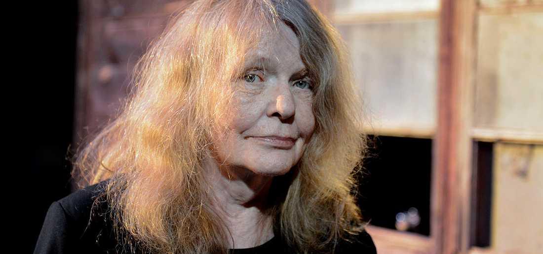 Kristina Lugn avled förra året, 71 år gammal. Hon valdes in i Svenska Akademien 2006 och satt på stol nummer 14.