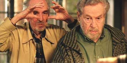 """sista filmen Ingmar Bergman gjorde """"Saraband"""" 2003 – 85 år gammal. """"Jag är glad att jag kunde göra filmen trots min höga ålder"""", sa han då. Filmen är en epilog till tv-serien """"Scener ur ett äktenskap"""" från 1973 och Erland Josephson spelade en av rollerna – både då och nu. Även Liv Ullmann medverkade i båda filmerna."""