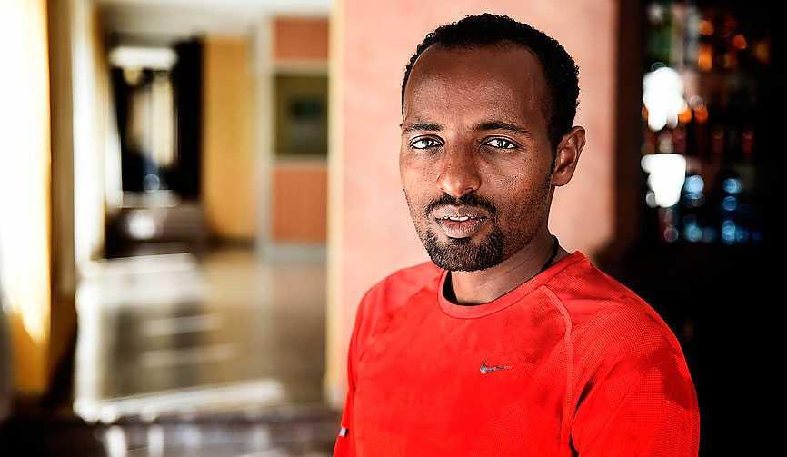 Tariku Bekele, bror till superstjärnan Kenenisa Bekele.