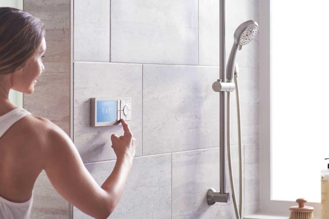 Smart dusch från Moen.