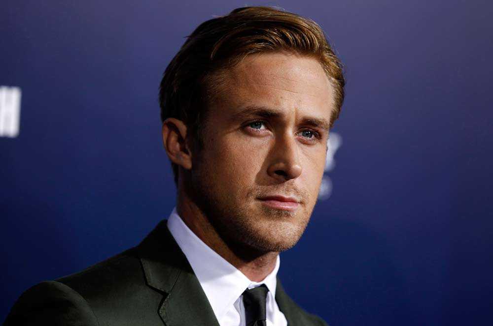 """Ryan Gosling, känd från filmen Crazy, Stupid, Love"""" kom sjua."""