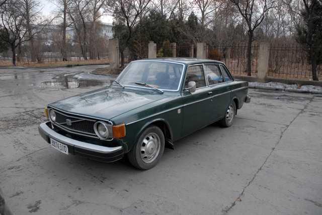 Nämen… Sven-Erik Johansson sprang även på en Volvo, 1973 års modell, i Pyongyang.