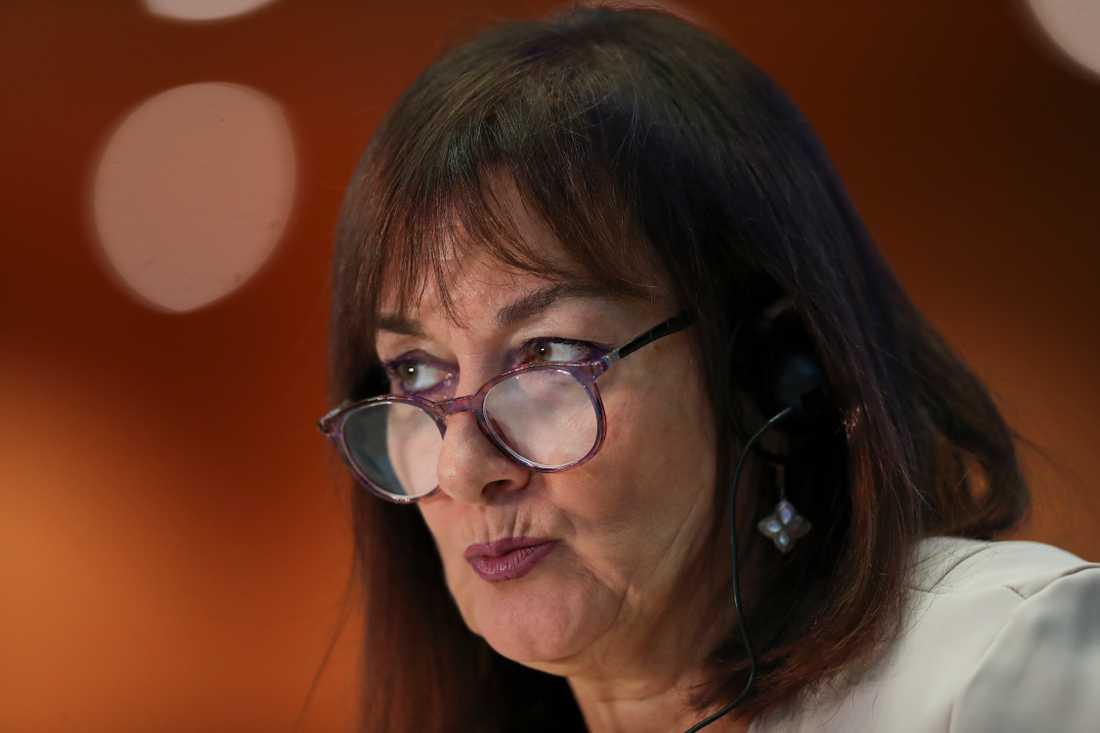 EU:s demokratikommissionär Dubravka Suica vill få in allmänhetens synpunkter på hur EU ska utvecklas framöver. Arkivfoto.