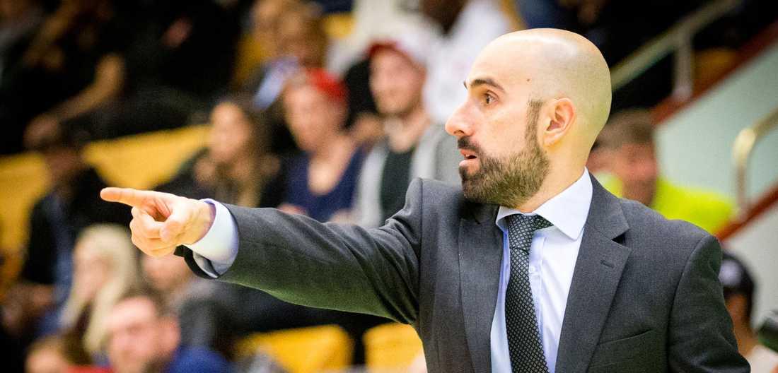 Nässjö-tränaren Raul Jimenez.