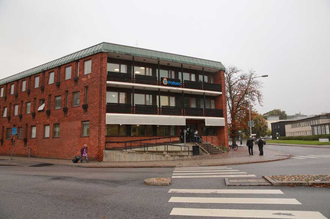 Polishuset i Lund där registret upprättades.