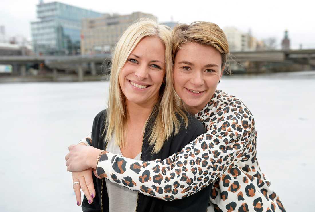 Annesofie Blixt och Jenny Lindström är tacksamma för allt stöd de fått efter Svenska Hjältar-galan i december – i dag kan Annso jobba heltid med Tilia.