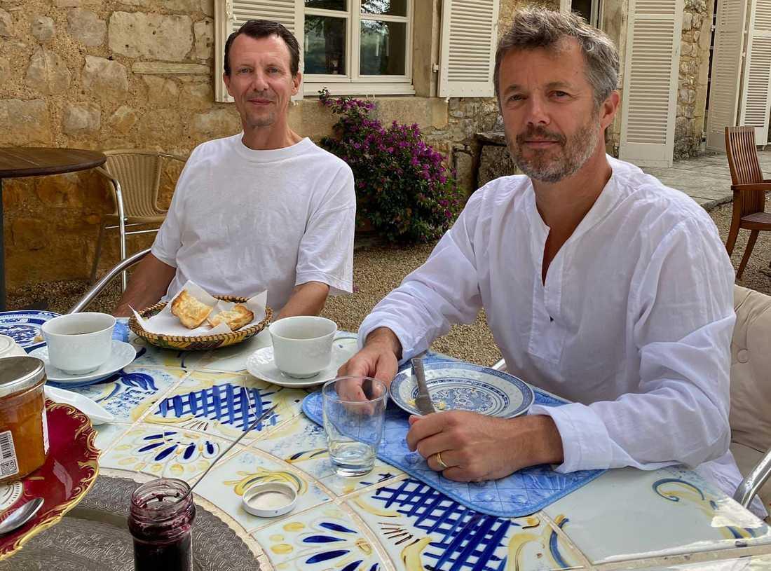 Prinsarna Joachim och Frederik i Frankrike.