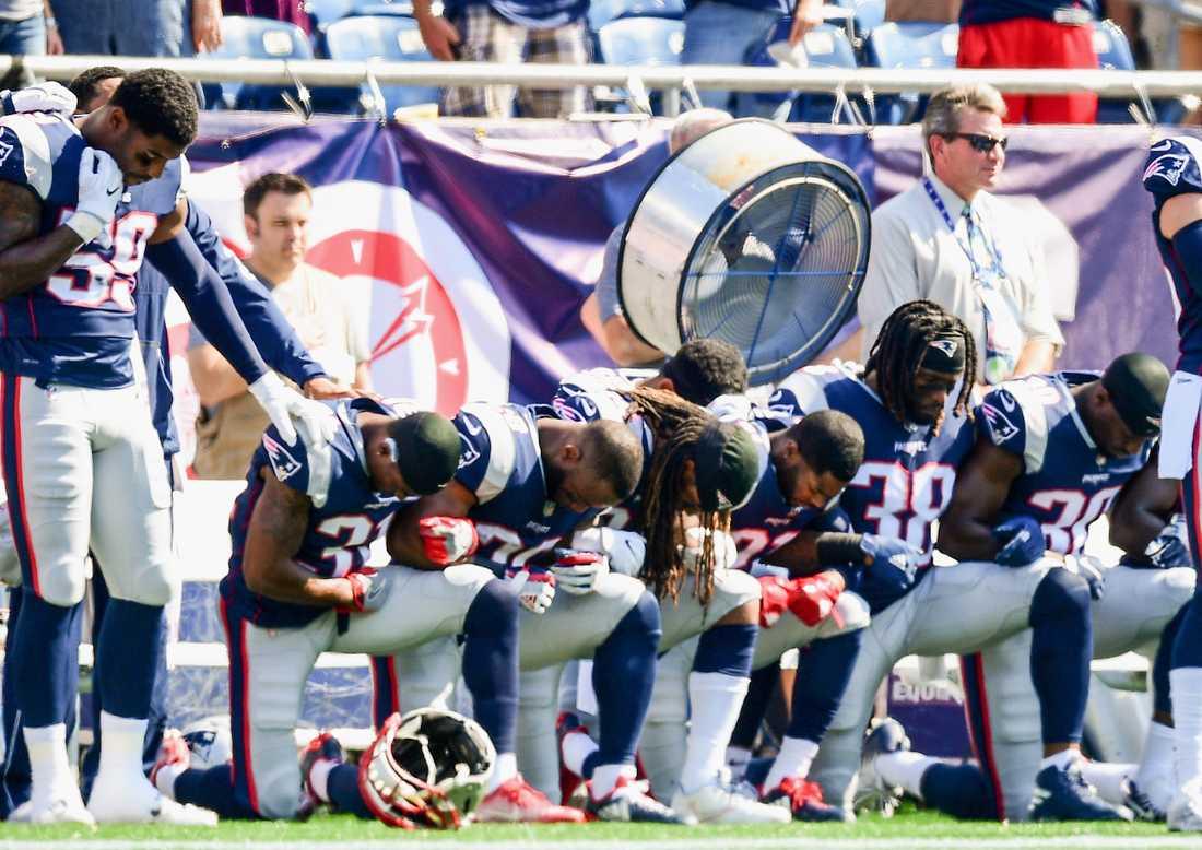 Spelare i New England Patriots.