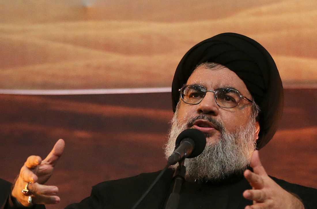 Hizbollahledaren Hassan Nasrallah. Arkivbild.