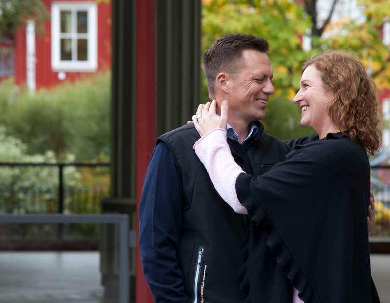 SNABB SOM ETT SCOTT När Andreas Olesen föll ihop på dansbanan under Scotts spelning var Jannicke Bergman blixtsnabbt framme för att ge hjärt-lungräddning. Nu är de två ett par.