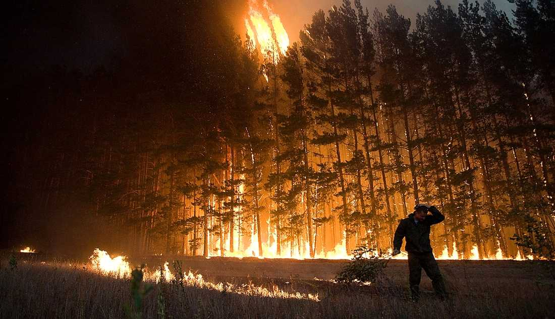 Ryssland, juli till september Det började som en sommar med extremt heta temperaturer, över 30 grader två månader i sträck. Torkan och värmen ledde till omfattande bränder som bland annat hotade ett kärnkraftverk. 56 000 människor dödades som en följd av hettan och luftföroreningarna. Därmed den mest dödliga naturkatastrofen i Rysslands historia.