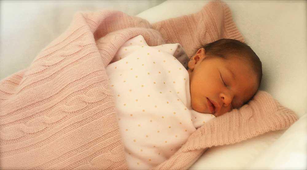 För knappt en månad sedan fick prinsessan Madeleine sin efterlängtade dotter.