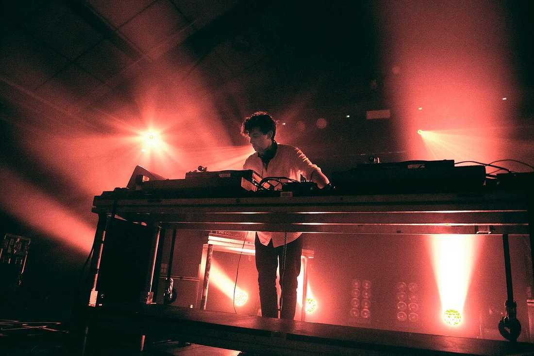 Jamie xx på Münchenbryggeriet.
