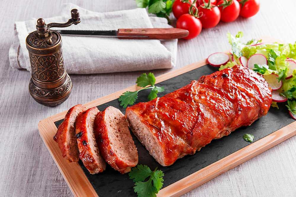 recept baconlindad köttfärslimpa