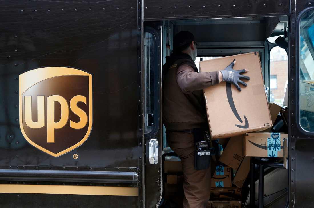 Det internationella distributionsföretaget UPS kör inte längre ut paket i Malmöstadsdelen Rosengård. Arkivbild.