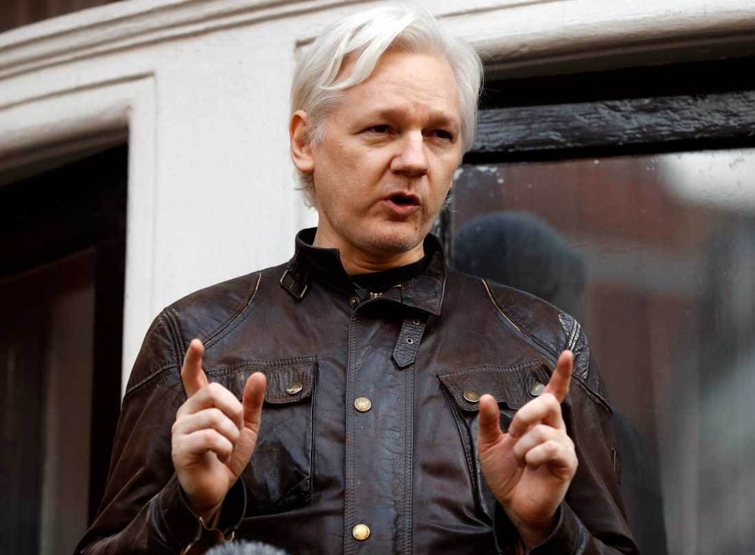 Julian Assange. Arkivbild.