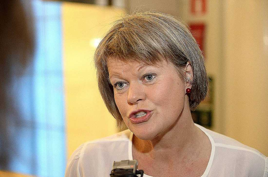 Ulla Andersson, ekonomiskpolitisk talesperson Vänsterpartiet.