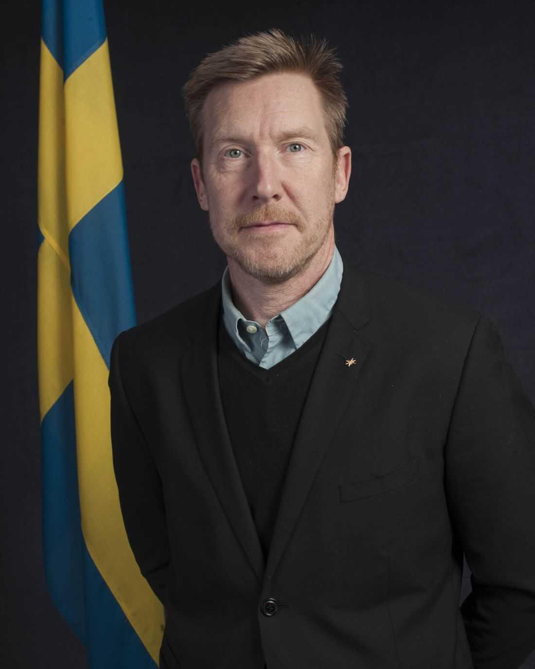 Nemo Stjernström, projektledare inom Försvarsmakten.
