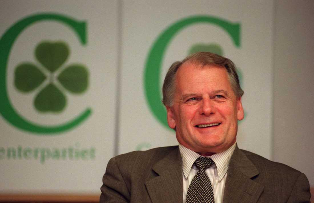 Olof Johansson var partiledare för Centerpartiet 1987–1998.
