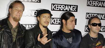 Metallica - pratar inte med pirater.