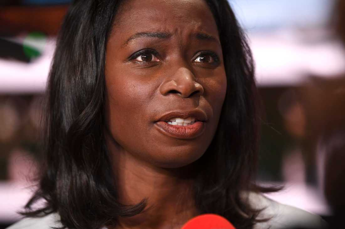 Liberalernas partiledare Nyamko Sabuni (L) vill inte fälla Morgan Johansson. Arkivbild.