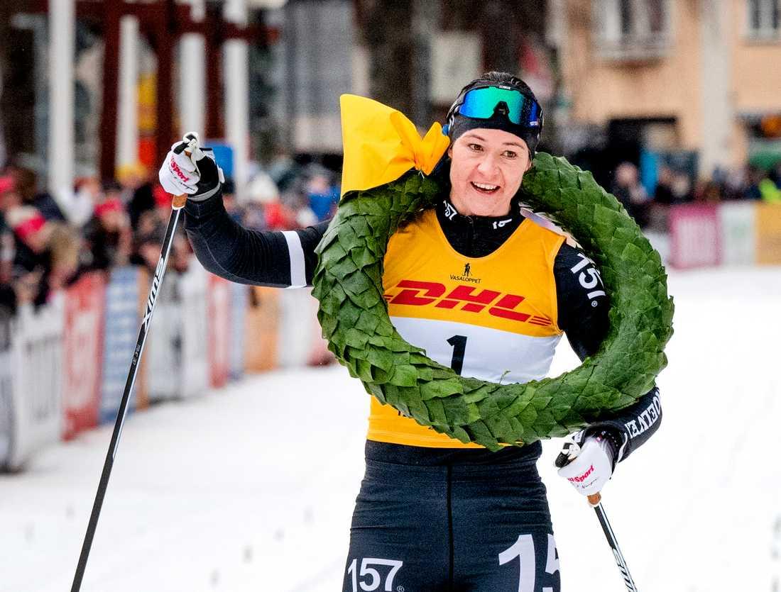 Britta Johansson Norgren vann Tjejvasan. Arkivbild.