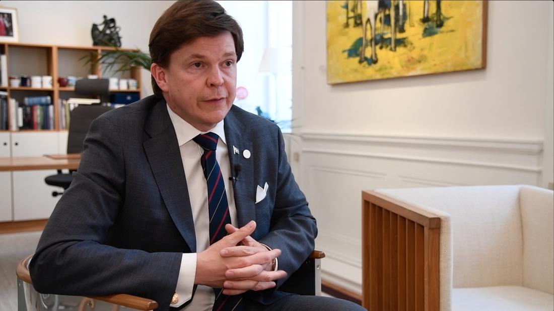 """""""Jag är bedrövad och bekymrad"""", säger talman Andreas Norlén."""