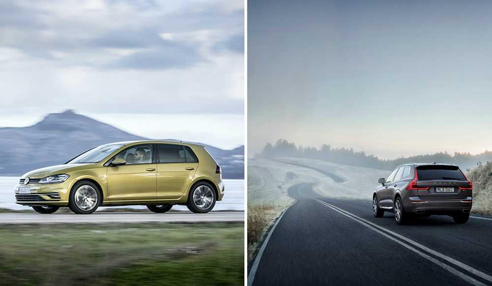 Volkswagen gör bättre bilar än Volvo, enligt svenska folket.