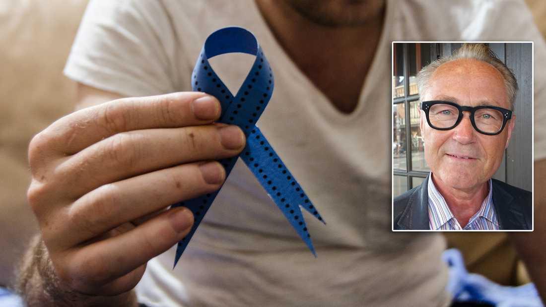 – Det är en enorm skillnad på väntetider. Det varierar från 88 dagar till 175. Prostatacancer är den dödligaste cancerformen bland män. Det dör 2 300 män i sjukdomen varje år i Sverige, säger Torsten Tullberg.