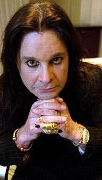 The Prince of Darkness Ozzy Osbourne skadades svårt vid en mc-olycka i England.