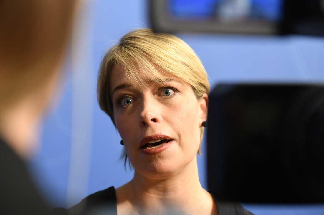 Annika Strandhäll har kritiserats för beslutet.