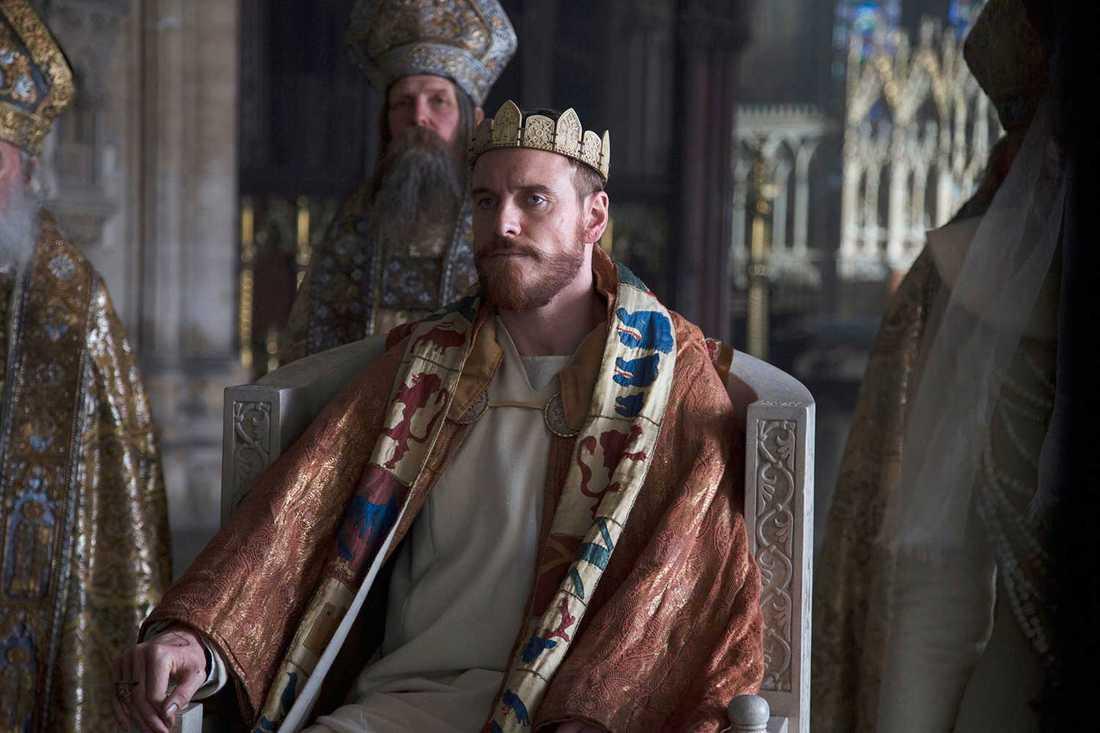 Michael Fassbender som Macbeth.